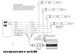 aem twin fire coil on plug waste spark wiring diagram