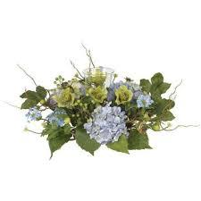 Blue - <b>Artificial</b> Plants & <b>Flowers</b> - Home Decor - The Home Depot