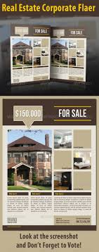 1000 images about real estate ads corporate real estate corporate flaer graphicriver item for