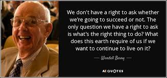 TOP 25 QUOTES BY WENDELL BERRY (of 487) | A-Z Quotes