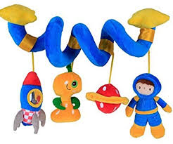 Labebe Car Seat <b>Toy</b>, Hanging <b>Toy</b> for <b>Baby</b> with Blue Astronaut ...