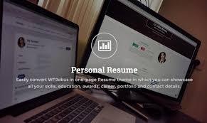 wpjobus job board and resumes wordpress theme by themes dojo personal resume