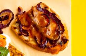<b>Roasted</b> Red <b>Onion</b> And Cheese <b>Toast</b> Topper   Brunch Recipes ...