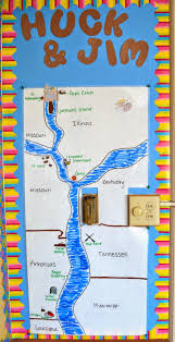 map of the mississippi river huckleberry finn adventures of huckleberry finn map bulletin board a fun interactive map of huck and jim s journey down