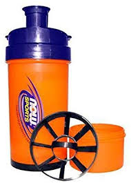 NOW Sports Nutrition, Sports On-the-Go Shaker, 3-in ... - Amazon.com