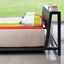 alpine gunmetal bed cb2 cb2 bedroom furniture