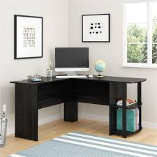 alluring home office desk desk interesting corner desk modern manufactured wood construction black oak finish 2 self bookcase side alluring alluring home office