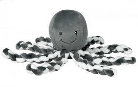 ≡ <b>Мягкая игрушка Nattou</b> Lapiduo Octopus Серый (878739 ...