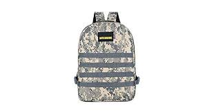 Battlefield <b>Backpack</b> Travel Rucksack Game <b>Camouflage</b> Double ...