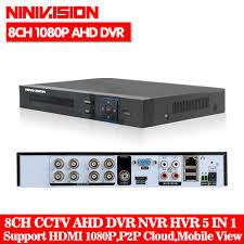 5 IN 1 <b>H</b>.<b>265</b> 5MP AHD DVR NVR XVR CCTV <b>4Ch 8Ch</b> 1080P 4MP ...