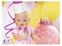 Купить <b>куклу Zapf Creation Baby</b> Born Нарядная с тортом, 43 см ...