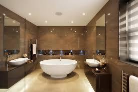 modern free standing round bathtub brown granit bathroom wall beach theme bathroom brown mosaic tiles bathroom vanity lighting remodel custom