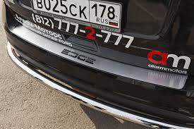 Тюнинг Ford Edge 2014 <b>Накладка на наруж</b>. <b>порог</b> багажника с ...