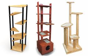 the cataeries cat tower system from madcat is interesting because it is modular letting you create a customized cat tree that has clean modern lines and cat furniture modern