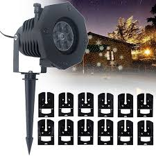 LED 48Pattern <b>Laser</b> Projector Light Landscape Outdoor <b>Christmas</b> ...