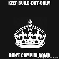 Black Keep Calm Crown | Meme Generator via Relatably.com