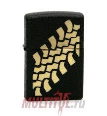 Zippo 236 <b>Tire</b> Tracks — купить оригинальную <b>зажигалку Зиппо</b> на ...
