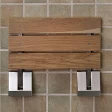 wood shower bench treenovation