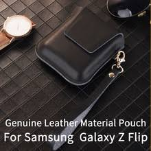 Genuine Leather Samsung Galaxy Z Flip Case Pouch Protective for ...