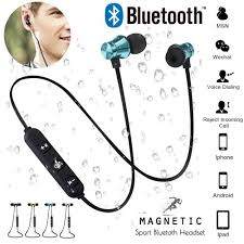 <b>YEINDBOO</b> Magnetic attraction Bluetooth Earphone Headset Stereo ...