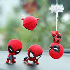 Car Cartoon Spiderman Model Cool Toy Resin Ornament Magnet ...