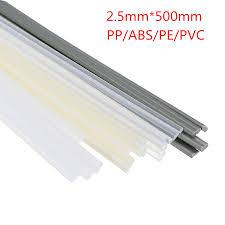 3mm + 6mm <b>grey 30pcs</b> PEHD HDPE <b>plastic</b> welding rods