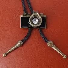 Fashion Retro Mini Camera Chain Leather Rope Men's and ... - Vova