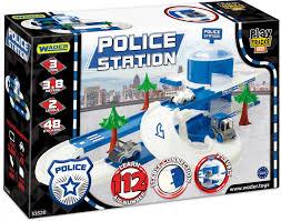 Автомобильный трек <b>Wader</b> Play Tracks City <b>Набор полиция</b> ...