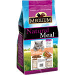 Купить <b>Сухой корм MEGLIUM Natural</b> Meal Cat Adult Chicken ...