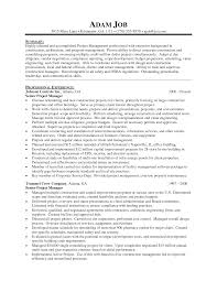 construction senior project manager job description template cv example senior project construction senior project manager job description