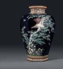 Mark of the Hayashi Chuzo workshop, Meiji Period. The large ...