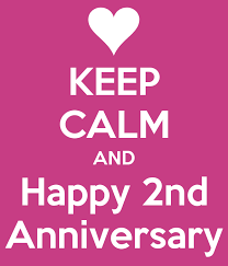 Image result for happy 2nd anniversary image