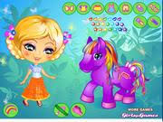 play Her Little Pony Dress Up