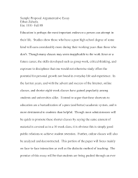 proposal essay outline resume formt cover letter examples introduction for an argumentative essay