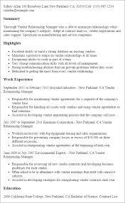 professional vendor relationship manager templates to showcase    resume templates  vendor relationship manager