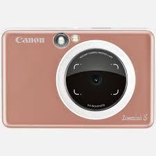 Buy <b>Canon Zoemini S</b> Instant <b>Camera</b> Printer, Rose Gold in Portable ...