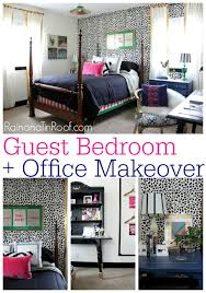 guest bedroom office reveal guest bedroom ideas via rainonatinroofcom guestbedroom chic home office bedroom