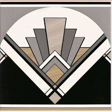 art deco inspired patterns are huge at the moment thanks to the great gatsby art deco inspired pinterest