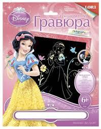 <b>Гравюра LORI Принцессы Disney</b>. Белоснежка (Грд-007) цветная ...