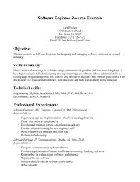 resume summary example for software engineer resume builder resume summary example for software engineer electrical engineer resume example software developer resume sample software engineer