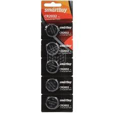 <b>Батарейка</b> литиевая <b>Smartbuy CR2032</b>/5В, 5 шт - купить в ...