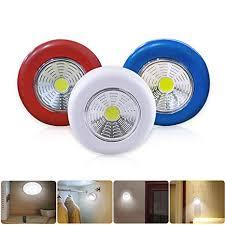 <b>COB</b> LED Stick Touch Under Cabinet <b>Light</b> Kitchen Bedroom Wall ...