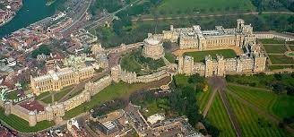 Windsor Castle Ariel View