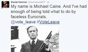 Image result for sir michael caine out eu