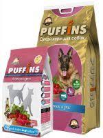 <b>Puffins</b> ягненок и рис для <b>взрослых собак</b>, купить корм по цене от ...