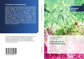 scholars press products page  bookcover of a handbook of chromatography