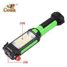 <b>Coba led work light</b> with cob light for camping magnetic knife hook ...