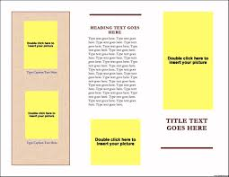 handout template related keywords suggestions handout template brochure templates for word one page