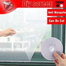 Net Anti Screen <b>Window</b> DIY <b>Mosquito</b> y De Mesh <b>Self</b> Ventanas ...
