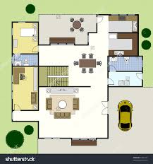 Ground Floor Plan Floorplan House Home Building Architecture        Floorplan House Home Building Architecture Blueprint Layout Preview  Save to a lightbox